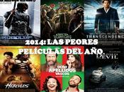 peores películas 2014