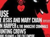 Bilbao Live 2015: Jesus Mary Chain, Harper, Counting Crows, Future Islands, Delorean...