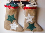 Calcetín Navidad tela saco