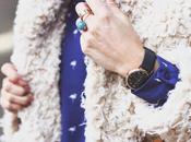 Street style inspiration; fluffy coats.-