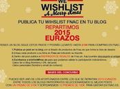 Wishlist Fnac 2015