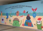 metro Melbourne vuelve lanzar mensaje seguridad exitosos dibujos