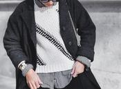 Faux scarf