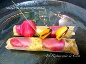 Obleas marisco rosas