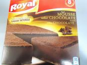 Pastel mousse chocolate royal