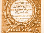 Constitución 1812, Cortes Cádiz Proceso Liberal