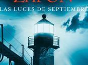 Reseña: Luces Septiembre Carlos Ruiz Zafón