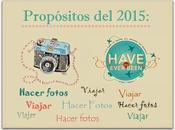 Propósitos (fotográficos, viajeros blogueros) para 2015
