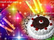 Tarta selva negra feliz 2015!!!