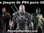 videojuegos esperados para PlayStation 2015