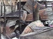 borracho quema tres casas Juan Maguana.