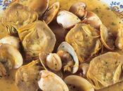 Alcachofa almejas calamares