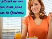 Pilares buena dieta para aliviar gastritis