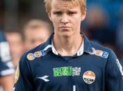 Video: juega Martín Odegaar, joven noruego fichado Real Madrid, según diario
