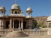 Gaitor, arte funerario Jaipur