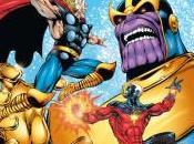 Colección Extra Superhéroes: Capitán Marvel engaño Thanos
