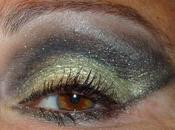 Maquillaje Ojos Fiesta, Dorado Gris