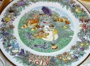 Precioso plato conmemorativo 2015 vecino Totoro'