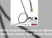 """Conferencia Congreso MUCA """"Cuandos músicos aglomeran, desarrollo mejora"""" José Nácher (UV)"""