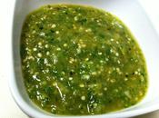 Champiñones salsa verde