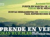 Emprende verde zonas rurales comunidad valenciana