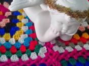 Crochet Punto afgano cuadros grandes full color. Aprovechar lanas colores (Big crocheted colorfull Grannys squares)