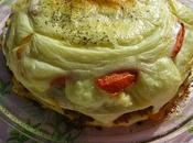 Pastel tortitas picadillo matanza