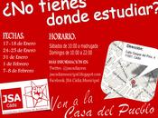Juventudes Socialistas Cádiz abre Casa Pueblo como sala estudio tercer consecutivo