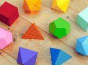 Formas tridimensionales Packaging Publicidad cómo exponer figura geométrica como producto marketing tratara