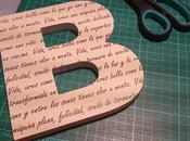 Letras personalizadas
