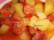 Patatas chorizo riojana (Olla NewChef método tradicional)