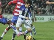 Granada Real Sociedad, equipo acaba arrancar