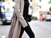 Abrigo largo zapatillas