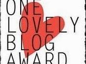 Premios Lovely Blog