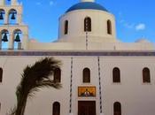 iglesias cúpulas azules Oia. Santorini. Grecia