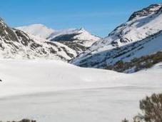 lago isoba nieve