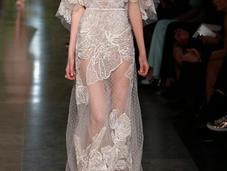 Elie Saab Alta Costura Primavera 2015: Vestidos Nostalgia