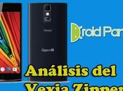 Análisis smartphone potente Vexia, Vexia Zippers