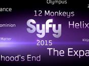Primer vistazo nuevas series canal SyFy para 2015 Killjoys, Dark Matter, Expanse, Childhood's Olympus.