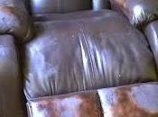 Muebles cuero-teñido cubre grietas