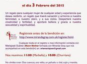 próximo martes febrero unimos bendición