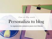Crear blog novelas: Cómo personalizar blog. organización nombre.