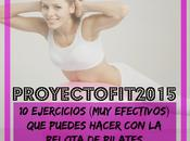 #ProyectoFit2015: Ejercicios Stability Ball (pelota Pilates)