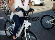 elecciones acercan: políticos Madrid montan bici primera cuatro años