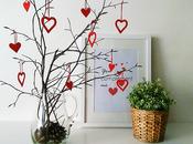 Ramas secas decoradas para valentin lowcost