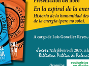 """Presentación Palencia libro: espiral Energía."""""""
