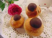 Brioches mandarina chocolate