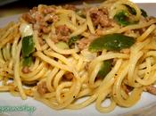 Espaguettis soja pimiento