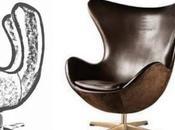 Sillón Arne Jacobsen, vivo nunca