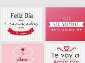 Tarjetas Valentin Colaboración #InLoveArgentina